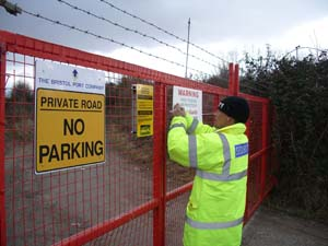 construction site security Bristol