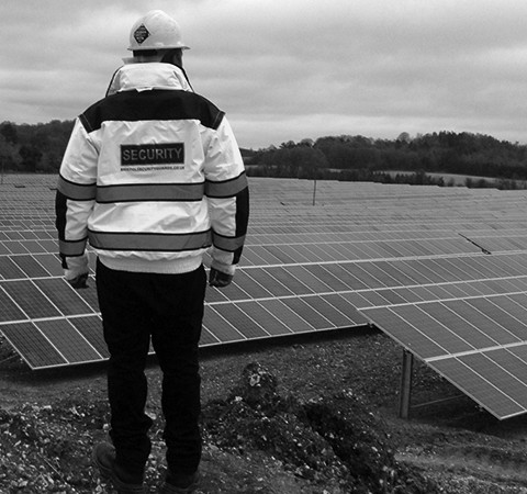 Solar Farm – Guarding the Solar Panels and Machinery